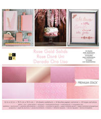 "Rose Gold - 12"" x 12"" Paper Pad"