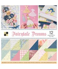 """Fairytale - 12""""X12"""" Double-Sided Paper Pad"""