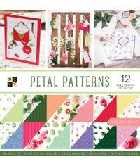 """Petal Patterns - 12""""X12"""" Paper Pad"""
