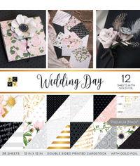 "Wedding Day - 12""X12"" Paper Pad"