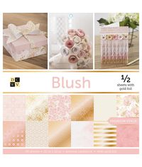 """Blush - 12""""X12"""" Paper Pad"""