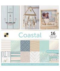 """Coastal - 12""""X12"""" Paper Pad"""