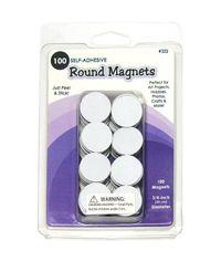 """Round Magnets  - 0.75"""", 100/Pkg"""