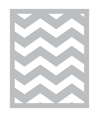 Chevron -Foam Front Card Kit