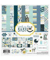 """Rock-A-Bye Baby Boy - Collection Kit 12""""X12"""""""