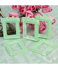 Rectangualr Bow Frame - Sea Green