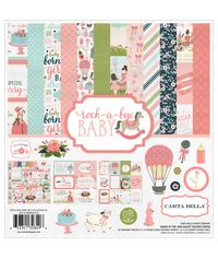 """Rock-A-Bye Baby Girl - Collection Kit 12""""X12"""""""