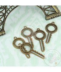 Round Beaded Key