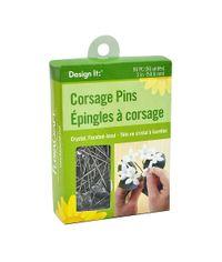 Crystal - Corsage Pins