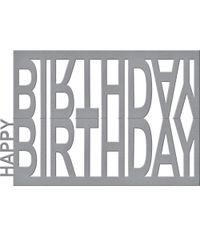 Happy Birthday Easel - Die