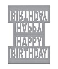 Happy Birthday Pop Up - Die