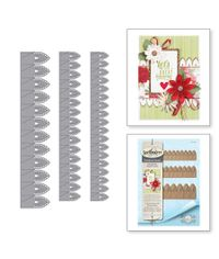 LILLY PEARL FLAT FOLD FLOWER/BORDER - DIE