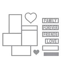 FRIENDS & FAMILY FRAMES - DIE