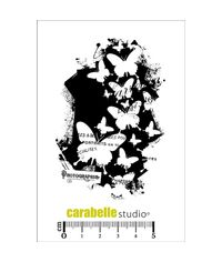 Stamp - Background Papillon