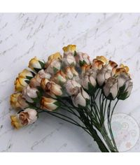 Earth Tone - Twisted Rose Buds Combo
