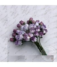 Purple Tone - Twisted Rose Buds Combo