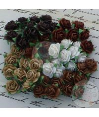 Brown Tone - Micro Roses Combo