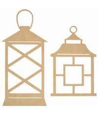 Beyond The Page MDF Lanterns 2/Pkg