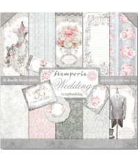 "Wedding 12"" X 12"" Paper Pad 10 Sheet/Pack"