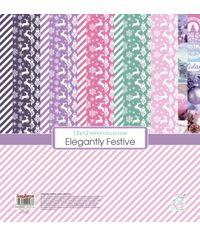 """Elegantly Festive 12""""x12"""" Paper"""