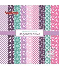 """Elegantly Festive 6""""x6"""" Paper"""