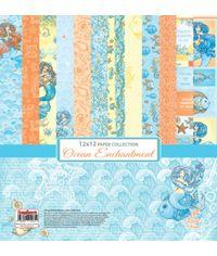 "Ocean Enchantment 12""x12"" Paper"