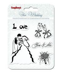 Wedding Stamp - You&Me