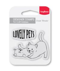 Lovely Pets - Stamp