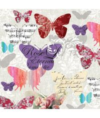 ROMANTIC BUTTERFLIES - Napkin