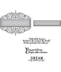 Beautiful Dreamer - Die & Stamp