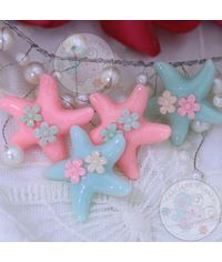 Starfish with Flower - Assorted Color