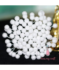 6 mm Round Styrofoam Buds