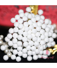 8 mm Round Styrofoam Buds