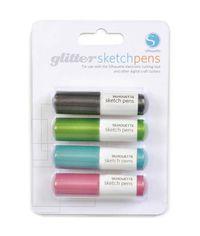 Silhouette Sketch Pens 4/Pkg - Glitter
