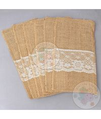 Jute Pocket Sleeves