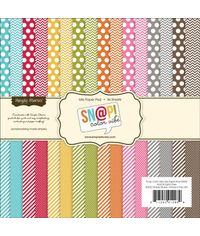 """Sn@p! Color Vibe Collection Paper Pad 6""""X6"""""""
