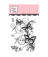 "Sweet 'n Sassy Clear Stamps 3""X4"""