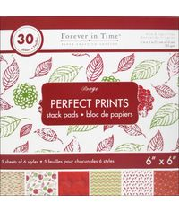 "Rouge - Perfect Prints Stacks 6""x6"""