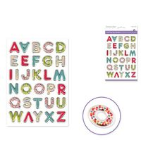 Vibrant Letters Sticker