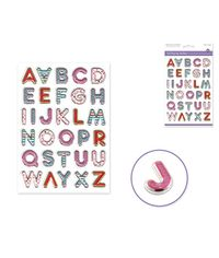 Posh Letters Sticker