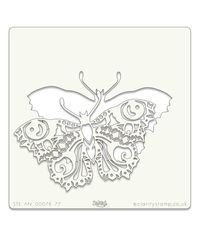 Filigraphy Butterfly Stencil 7 x 7 Inch