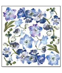 Blue Flower - Printed Plastic sheet