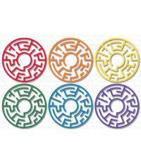 Maze Shapes - Rainbow