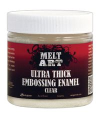 Clear - Melt Art Ultra Thick Embossing Enamel 4 Ounces