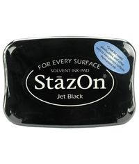 Jet Black - Staz-On Ink Pad