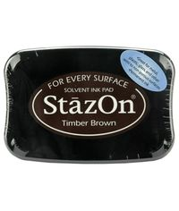 Timber Brown - Staz-On Ink Pad