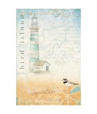 TCR06 - Lighthouse Decoupage Rice Paper