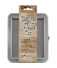 Distress Crayon Tin - Empty