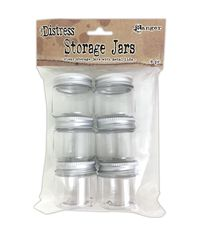 Distress Storage Jars -Empty