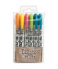 Tim Holtz Distress Crayon Set #1